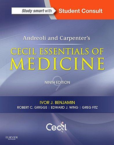 Pdf Medical Books Andreoli and Carpenter's Cecil Essentials of Medicine (Cecil Medicine)
