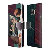 Official Rock Demarco Boob Tube Illustrations Leather Book Wallet Case Cover For Samsung Galaxy Note5 / Note 5