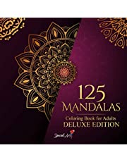 125 Mandalas: An Adult Coloring Book with more than 125 Beautiful Mandalas for Stress Relief and Relaxation (Deluxe Edition)