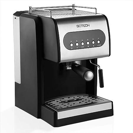 He-art Máquina de café exprés con un botón de Limpieza automática ...