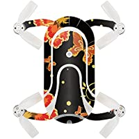 Skin For ZEROTECH Dobby Pocket Drone – Flower Dream | MightySkins Protective, Durable, and Unique Vinyl Decal wrap cover | Easy To Apply, Remove, and Change Styles | Made in the USA