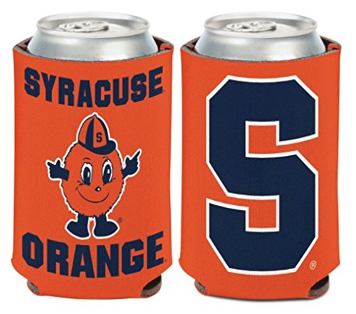 WinCraft NCAA Syracuse University Orange 1 Pack 12 oz. 2-Sided Can Cooler