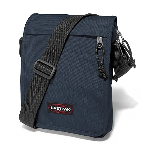 Eastpak Flex Bolso Bandolera, 3.5 litros, Gris (Sunday Grey) Azul (Midnight)