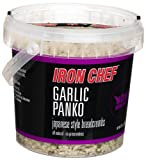 IRON CHEF Garlic Flavored Panko, Certified Kosher, 6-Ounce Buckets (Pack of 3)