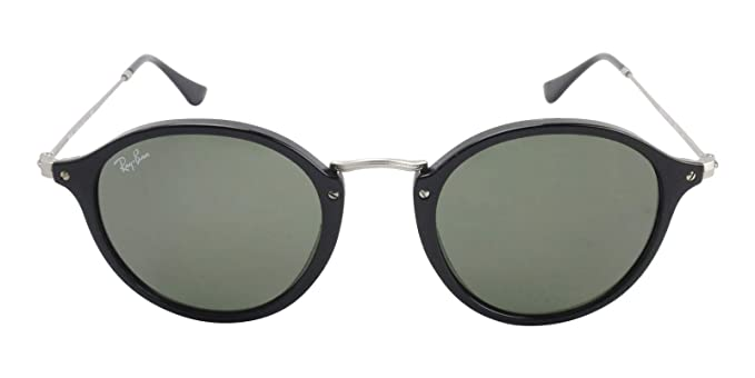 e029b41fac7db Image Unavailable. Image not available for. Color  Ray-Ban RB2447 901 Round  Fleck Sunglasses Black ...