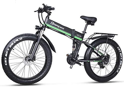 1000W Bicicleta eléctrica para Hombre Mountain Mountain Ebike ...