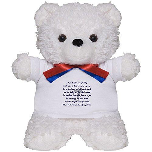 CafePress - Physical Therapist's Prayer - Teddy Bear, Plush Stuffed Animal
