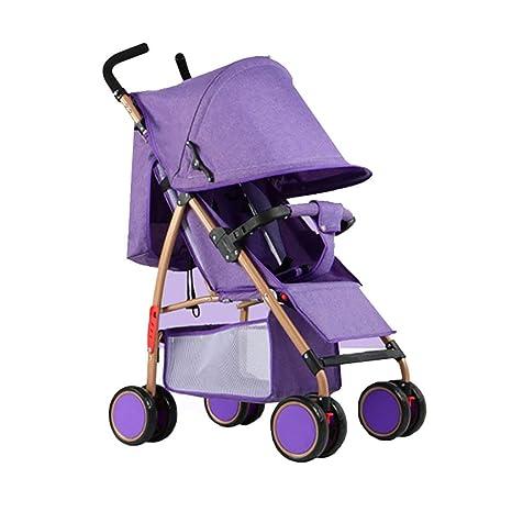 HhGold Trolley Baby Cochecito Ligero Fácil de Llevar ...