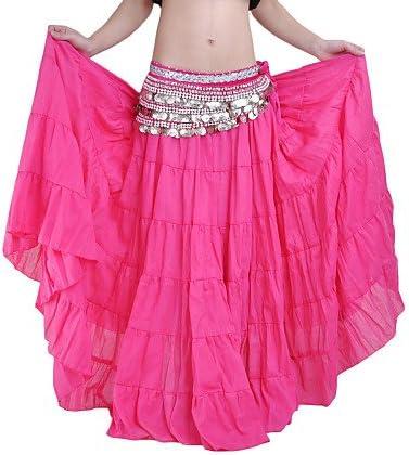 Faldas (fucsia rosa, Lin, Danza del Vientre Spectacle) danza del ...