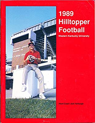 1989 Western Kentucky University Football Media Guide CFBmg36