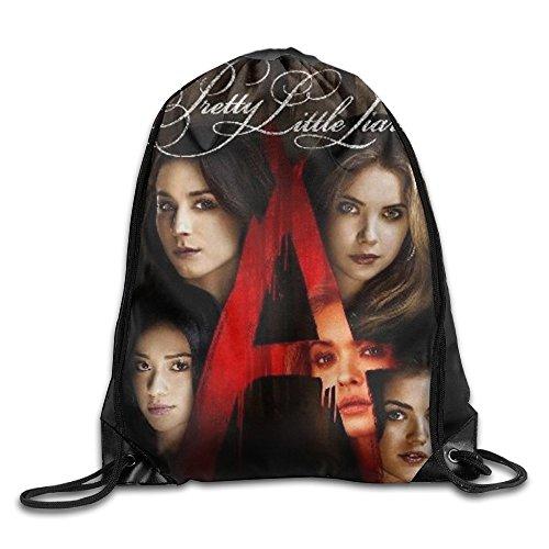 (Drawstring Backpack Sack Bag Pretty Little Liars Home Travel Sport Storage Hiking Running Bags )