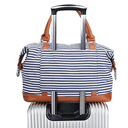 Metal Ground Plane - S-ZONE Women's Travel Duffel Bag Carry-on Bag Weekend Tote Bag Overnight Bag