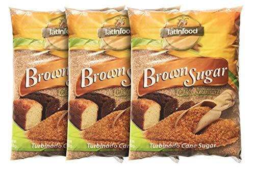 Brown Sugar Turbinado Cane Sugar, Made Using 100% Natural Pure Cane Sugar, 6 lbs
