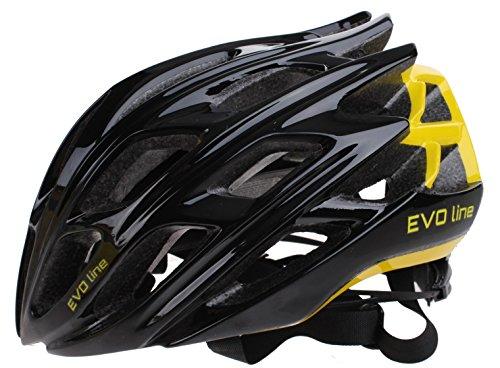 Cycle Tech Helm Unisex schwarz gelb Größe 52-58 cm