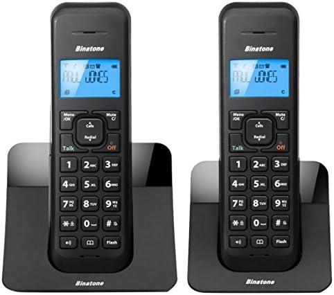 Binatone LUNA1205TWIN Telefono inalambrico duo: Amazon.es: Electrónica