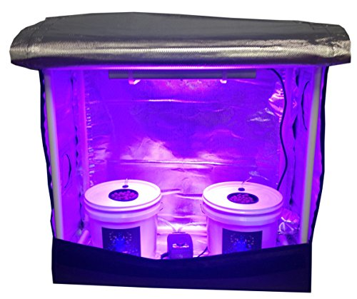 Hydroponic Grow Room (2 site) - Complete Grow System - DWC Hydroponic Kit by Bubble Monster Grow Room