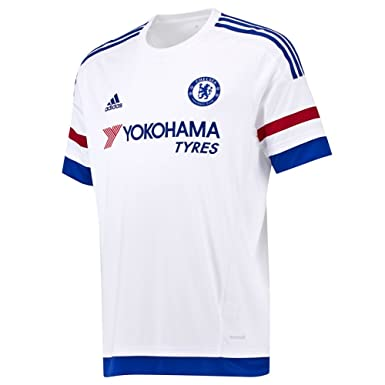 buy online fc5c6 6fb4c adidas Youth Climacool Chelsea Away Replica Soccer Jersey Small