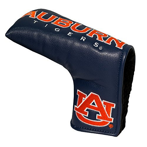 Team Golf NCAA Auburn University Tigers Golf Club Vintage Blade Putter Headcover, Form Fitting Design, Fits Scotty Cameron, Taylormade, Odyssey, Titleist, Ping, Callaway