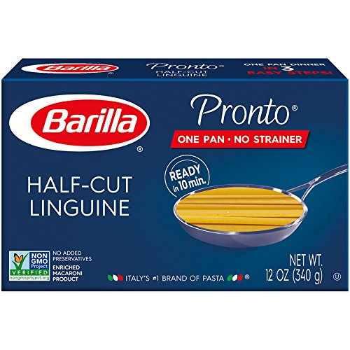 Barilla Pronto Pasta, Rotini, 12 Ounce (Pack of 8)