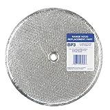 "Nautilus/broan Mfg. 99010042 Replacement Exhaust Fan Filter Aluminum 9-1/2\"""