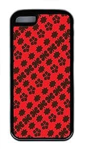 Hot iPhone 5C Customized Unique Print Design Red Design Restoring Ancient Ways New Fashion pc Black iPhone 5C Cases