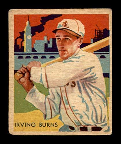 (1934 Diamond Stars #75 Jack Burns VGEX X1616863)