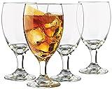 Libbey Classic 4-piece Goblet Glass Set
