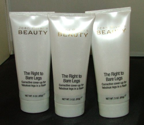 Joan Rivers beauté le droit à Bare Jambes corrective Cover Up Medium (Pack de 3)