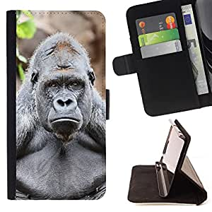 - Gorilla - - Style PU Leather Case Wallet Flip Stand Flap Closure Cover FOR Samsung Galaxy S3 III I9300 - Devil Case -