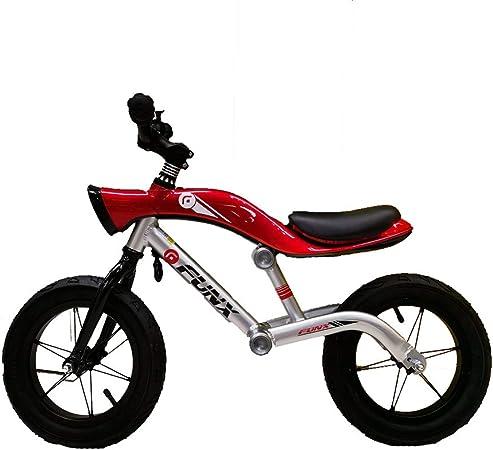 CHAOLIU Bicicleta Balance para Niños y Niñas, Bicicleta de Senderismo para niños Rojos, Bicicleta de Entrenamiento sin Pedal con Marco de aleación de Aluminio Ligero y Asiento Ajustable para 2-6,Red: Amazon.es: Hogar