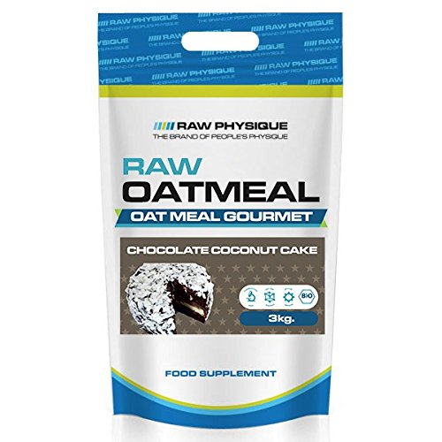 Raw Physique - Harina de Avena - 3 kg - Chocolate con Coco: Amazon.es: Alimentación y bebidas
