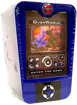 Chaotic TCG 2008 Overworld Collectible Holiday Tin /& Scanner Deck