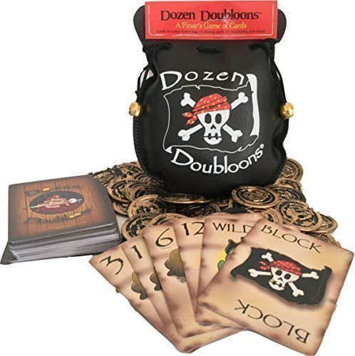 (Dozen Doubloons: A Pirate's Card Game for One, Two, Three, and Four Players)