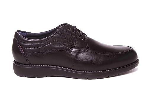 39b2a2460ca Zapato de Hombre Ancho Especial con Cordones - Muy cómodo - Tolino A7911 -  Piel - Negro  Amazon.es  Zapatos y complementos