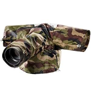 Walimex - Protector contra la lluvia para cámaras réflex, diseño de camuflaje