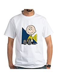 CafePress - The Peanuts Gang: Charlie Brown - 100% Cotton T-Shirt