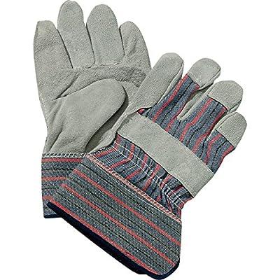 Ironton Split Cowhide Palm Work Gloves - One Pair