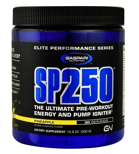 Gaspari Nutrition SP250TM Pineapple -- 30 Servings, 10.6 oz