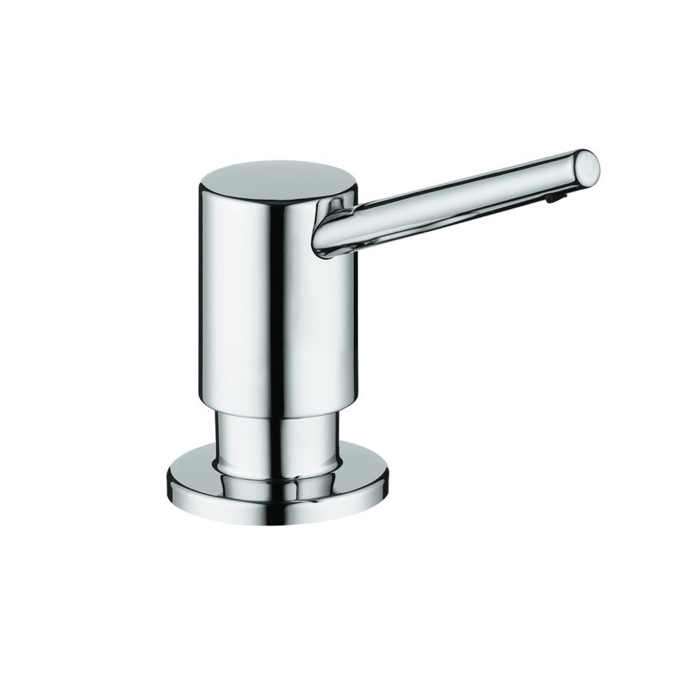 Amazon.com: Hansgrohe 04539800 S Soap Dispenser, Steel Optik: Home ...