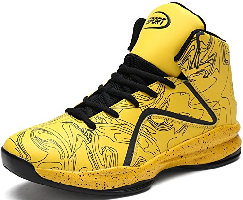 Weweya Mens Sneakers Basketball Sports Shoes Outdoor Performance Athletic Shoes