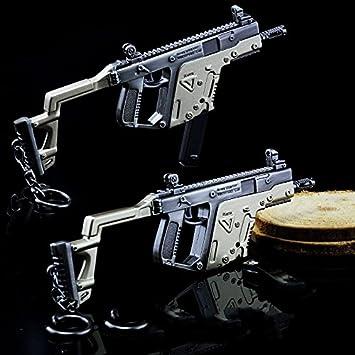 Amazon De Spiele Pubg Eat Huhn 1 5 14 5 Cm Mini Metall Vector Gun