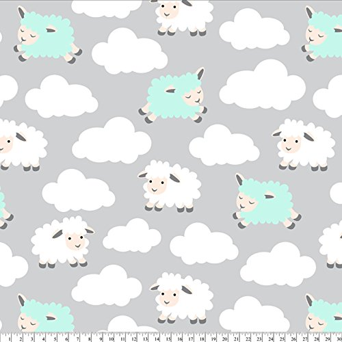 Fleece Blanket Finished Edges (Counting Sheep Fleece Throw Blanket with Finished Edges)