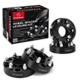 Wheel Spacers 6x5.5 for Silverado 1500, 1.5'' Forged Hubcentric Wheel Adapters, 14x1.5 studs&78.1mm hub Bore Compatible for Chevy Tahoe/Avalanche/Express/Suburban, GMC Sierra/Yukon, Cadillac Escalade