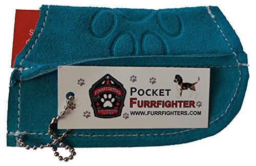 Jack's Furrfighters Furrfighting Gear Hair Removers, Teal made in New England