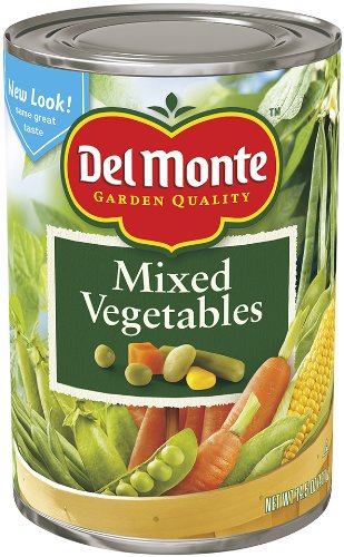 Del Monte Mixed Vegetables, 14.5-Ounce Cans (Pack of 12)