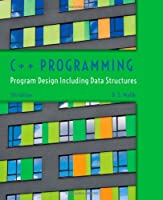 C++ Programming: Program Design Including Data Structures, 7th Edition
