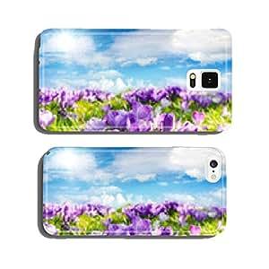 Spring Awakening: crocus under blue sky :) cell phone cover case iPhone6