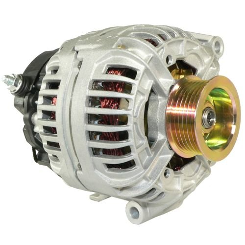 DB Electrical ABO0066 New Alternator For Chevrolet 3.1L 3.1 Malibu 03 2003 / 3.4L 3.4 Impala Monte Carlo 04 05 2004 2005 / Grand Am 0-124-415-033 6-004-MA5-008 6-004-MA5-011 12520253 13770 13989