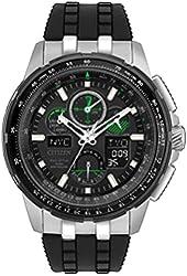 Citizen Eco-Drive JY8051-08E Mens Skyhawk A-T World Time Watch