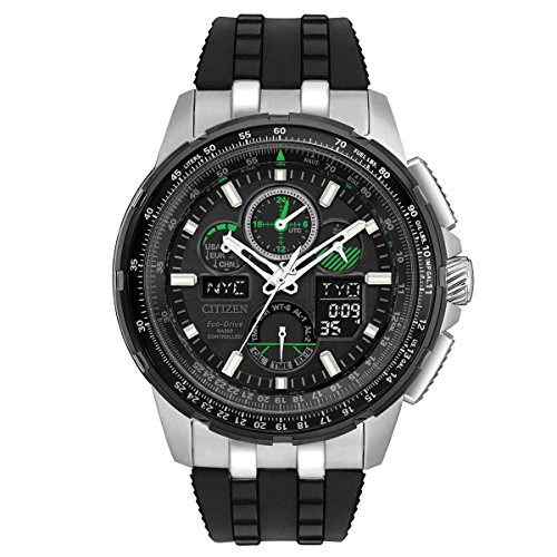 Citizen Black Eco Drive Skyhawk Watch